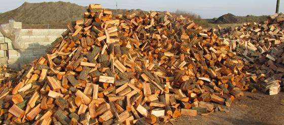 Éger tűzifa